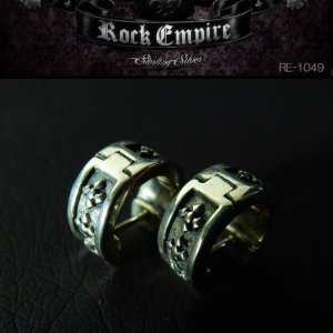 ROCK EMPIRE ロックエンパイア ピアス(2個組) シルバー925 RE-1049|coolbikers