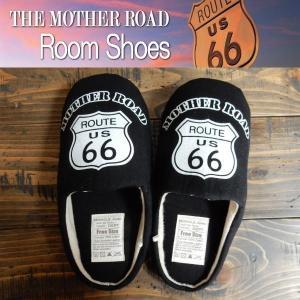 ルームシューズ Route66 ルート66 スリッパ フリーサイズ 部屋履き Room Shoes|coolbikers