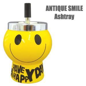灰皿 アンティーク スマイル ANTIQUE SMILE マグ 陶器 インテリア 喫煙 SMILE Ashtray IQOS(アイコス)にも|coolbikers