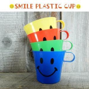 SMILE COLORFULL MUG CUP スマイル カラフルマグカップ 4個セット|coolbikers