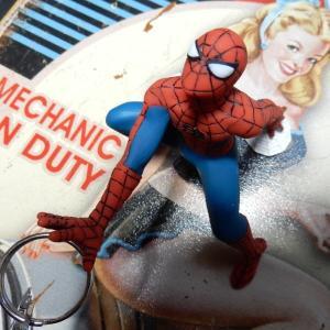 MARVEL マグネットキーハンガー スパイダーマン #14319 [マーベル コレクション Spider man]|coolbikers