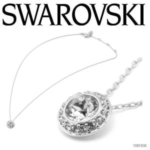 SWAROVSKI スワロフスキー NGELIC LIGHT アンジェリックライト サークル ネックレス/ペンダント シルバー/クリア  1081938|coolbikers