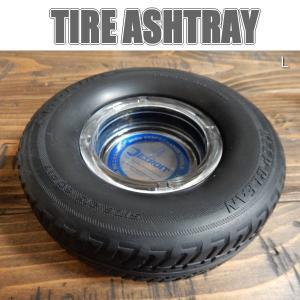 TIRE ASHTRAY レーシングタイヤ アシュトレイ DETROIT タイヤ灰皿 IQOS(アイコス)にも L/ラージサイズ|coolbikers