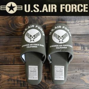 スリッパ United States Air Force USAF ミリタリー 空軍 フリーサイズ|coolbikers