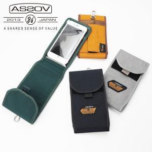 アッソブ モバイルケース メンズ コーデュラスパン600D 61702 AS2OV|coolcat-y