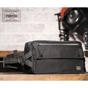 吉田カバン ポーター ウエストバッグL メンズ スモーキー 592-07600 PORTER|coolcat-y