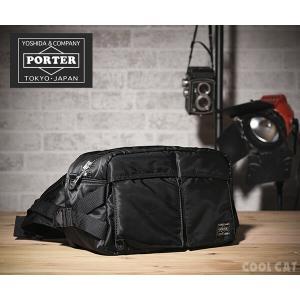 吉田カバン ポーター ウエストバッグ メンズ タンカー 622-68302 PORTER|coolcat-y