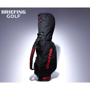 【選べるノベルティ付】 ブリーフィング ゴルフ/キャディバッグ/ブラック メンズ GOLF brg2...