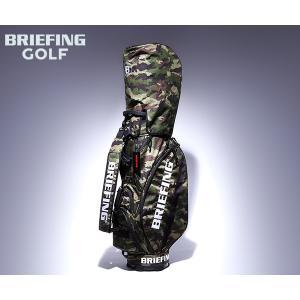 【選べるノベルティ付】 ブリーフィング ゴルフ/キャディバッグ/グリーンカモ メンズ GOLF br...