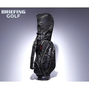【選べるノベルティ付】 ブリーフィング ゴルフ/キャディバッグ/マルチカモブラック メンズ GOLF...