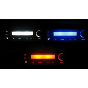 エルグランド E50 LED エアコン照明セット! coolfactory