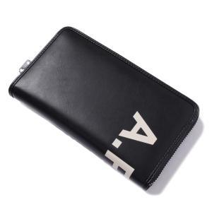 ブランド:アーペーセー(A.P.C.) カラー:ブラック アイテム:財布 長財布 ラウンドファスナー...