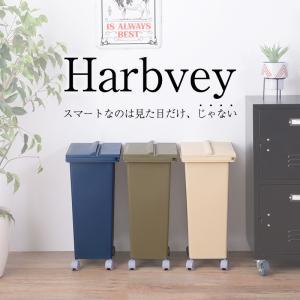 ごみ箱 キャスター付き ゴミ箱 3Wayソリッドオープン ダストボックス Harbvey ハーヴィ   ペール オシャレ|coolzon