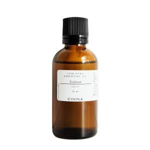 ベチバー 50 ml エッセンシャルオイル アロマオイル 精油 coona