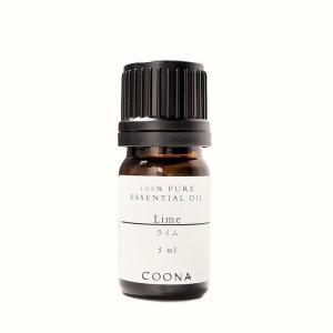 ライム 5 ml エッセンシャルオイル アロマオイル 精油 メール便可|coona