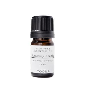 ローズマリー (シネオール) 5 ml エッセンシャルオイル アロマオイル 精油 メール便可|coona