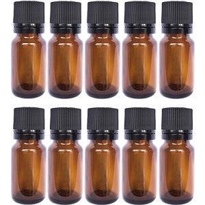 10 ml 遮光瓶/ドロッパー付きセイフティーキャップ(10本セット)