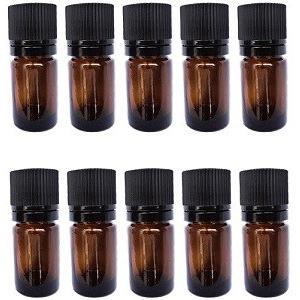 5 ml 遮光瓶/ドロッパー付きセイフティーキャップ(10本セット)