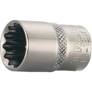 トラスコ中山/TRUSCO T3-10W ソケット 12角タイプ 差込角9.5 対辺10mm¢≠↑