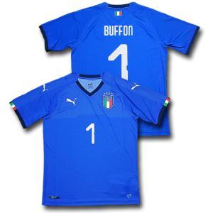 <プーマ>イタリア代表 ホーム #1・ジャン・ルイジ・ブッフォン 2018/20 半袖ユニフォーム...
