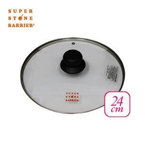 スーパーストーンバリア フライパン専用 ガラス蓋 フタ 24cm 強化ガラス 耐熱 割れにくい copa