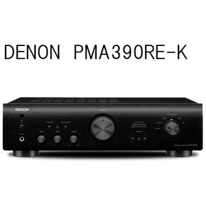 デノン プリメインアンプ PMA390RE-K(ブラック)