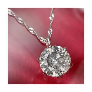 大人気純プラチナ0.7ctダイヤモンドペンダント モデル着用 注目アイテム 直営店 ネックレス 鑑別カード付き