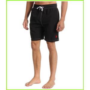 U.S. POLO ASSN. 格安店 ついに再販開始 7 Swimsuit Bottoms Black MEN メンズ