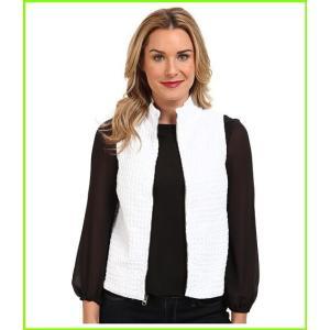 <title>Mod-o-doc Zip Vest Coats 驚きの値段で amp; Outerwear WOMEN レディース White</title>