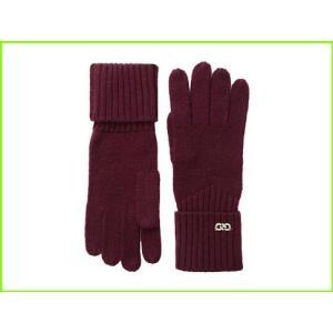 <title>Cole Haan 国内在庫 Diagonal Rib Glove コールハーン Gloves WOMEN レディース Red</title>