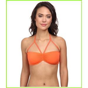 <title>KAMALIKULTURE by Norma Kamali Shirred Top Swimsuit Tops WOMEN レディース Bright Orange 送料0円</title>