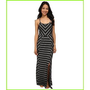 <title>Culture Phit Georgia 予約 Striped Maxi Dress Dresses WOMEN レディース Black</title>