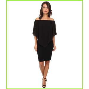 Gabriella Rocha 予約販売 Chiffon Nalah Dress Dresses WOMEN Black キャンペーンもお見逃しなく レディース
