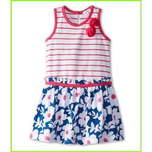 <title>le おしゃれ top Bloom Drop Waist Dress w Stripe Bodice Chiffon Flowers Toddler Little Kids Dresses WOMEN レディース Bou</title>