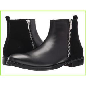 おトク CoSTUME NATIONAL Double Zipper Boot 特価品コーナー☆ メンズ Nero MEN Boots コステュームナショナル