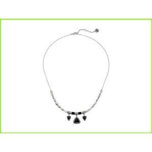 倉庫 The Sak Triangle Frontal セール特価 Necklace 18 Silver レディース Pendants WOMEN Black