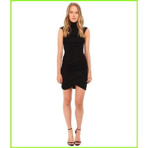 Pierre Balmain Ribbed Sleeveless Dress FP33160 マーケティング ピエール WOMEN バルマン Black Dresses レディース 1年保証