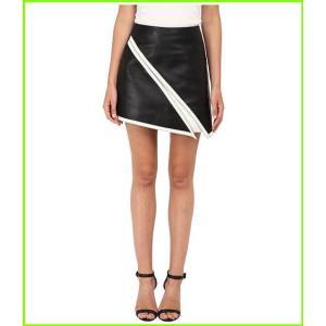Neil Barrett 永遠の定番モデル Suede Skirt ニールバレット WOMEN Skirts 格安SALEスタート White レディース Black
