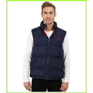 U.S. POLO ASSN. 直営限定アウトレット Basic Puffer Vest Coats amp; Navy メンズ MEN Outerwear Classic 送料無料/新品
