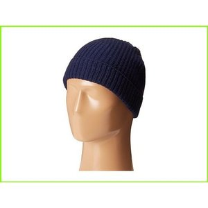 <title>Cole Haan ギフト Striped Cardigan Stitch Watch Cap コールハーン Hats MEN メンズ Blazer Blue</title>