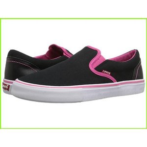 <title>Levi's Shoes Sam リーバイス Sneakers amp; Athletic WOMEN レディース Black Fuchsia 至高</title>