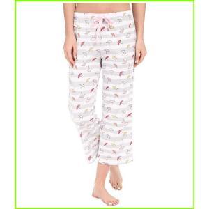 Jockey 引き出物 Printed Cotton Capris 5☆大好評 Pajama レディース Bottoms Umbrellas WOMEN