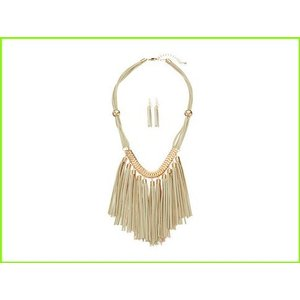 Gabriella Rocha Tassel Necklace with Gold Cream WOMEN Detail 2020新作 Strands レディース 流行のアイテム