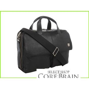 KNOMO London 正規取扱店 Warwick Double Compartment Laptop メンズ Briefcase MEN Black 新作アイテム毎日更新 Bags