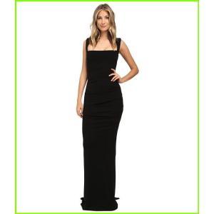 Nicole Miller Felicity Open Back Jersey Gown Dresses デポー レディース WOMEN ニコール 今ダケ送料無料 Black ミラー