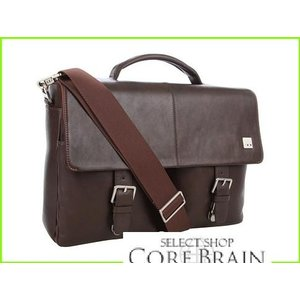 KNOMO 予約 London Jackson Top Handle 通常便なら送料無料 Laptop Briefcases Leather Briefcase MEN メンズ Brown