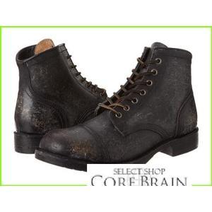 Frye Logan Cap Toe NEW売り切れる前に☆ フライ Boots MEN メンズ Polished 2020モデル Stonewash Black