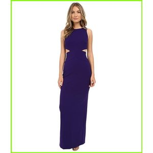 Nicole Miller Aria Cutout Gown ニコール Purple ミラー 2020春夏新作 WOMEN レディース Dresses Majestic 休日