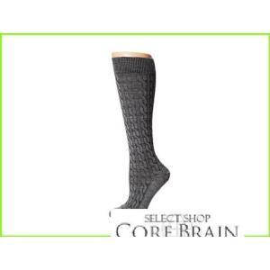 Fits 早割クーポン Center City Knee High Socks レディース Cable 与え Grey Heather WOMEN