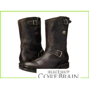 Frye Stone Engineer フライ Boots メンズ Polished クリアランスsale!期間限定! Black Stonewash 日本限定 MEN